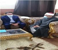 رئيس القطاع الديني بالأوقاف يستقبل السفير الكازاخستاني بالقاهرة