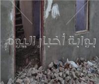 مصرع طفلة وإصابة شقيقتها في انهيار منزل بسوهاج