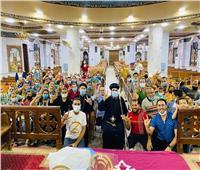 أسقف أبوقرقاص يلتقي خدام الموهوبين وذوي القدرات الخاصة