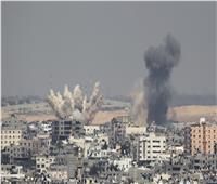 قصف إسرائيلي مكثف على قطاع غزة