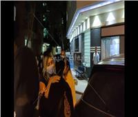 انهيار بوسي شلبي بعد وفاة سمير غانم | فيديو