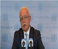 وزير الخارجية الفلسطيني: إسرائيل تسعى لطمس هوية القدس العربية  فيديو