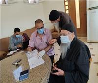 صحة البحيرة :تطعيم 297 راهبًا بأديرة وادي النطرون بلقاح كورونا