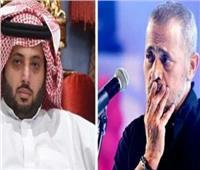 وصلة مدح بين تركي آل الشيخ وجورج وسوف على الهواء | فيديو