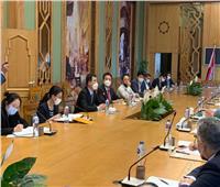 بحث فرص التعاون الاستثماري مع الشركات الكورية في مصر
