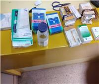 ضبط835 عبوة دوائيةمنتهيةالصلاحيةبالشرقية