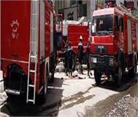 مكون من 12 طابقا.. السيطرة على حريق عقار بالبساتين