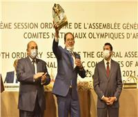 وزير الرياضة وحطب يكرمان رئيس «الأنوكا»