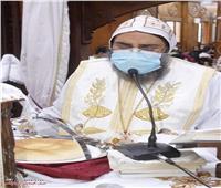 تدشين أيقونات كنيسة بإيبارشية أبو قرقاص
