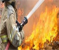 إخماد حريق في الوحدة الصحية بالاشمونين بالمنيا