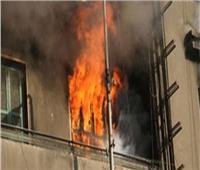 مصرع طفلين وإصابة ربة منزل في حريق شقة سكنية بحلوان