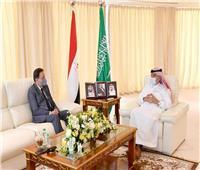 «كرم جبر» يلتقي رئيس الشورى السعودي ووزير الإعلام المكلف