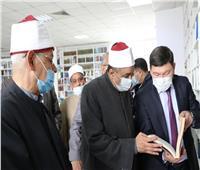 رئيس القطاع الديني بالأوقاف يتفقد جامعة «نور مبارك» بكازاخستان