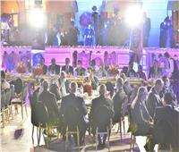 «الأولمبية» تنظم حفل عشاء لرؤساء اللجان الإفريقية ومجلس الأنوكا