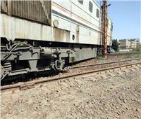 مصدر بـ«السكة الحديد»: لا إصابات في حادث خروج قطار دمياط عن القضبان