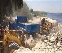 وزارة الري تواصل حملات إزالة التعديات على نهر النيل
