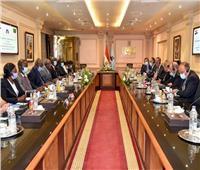 رئيس الهيئة العربية للتصنيع يستقبل قائد الخدمة الوطنية الزامبية