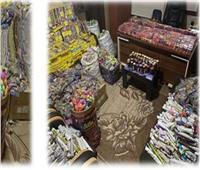 «الداخلية» تحبط تهريب 100 ألف قطعة ألعاب نارية عبر ميناء «السخنة»