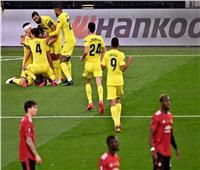 نهاية الشوط الأول.. فياريال يضرب مانشستر يونايتد بهدف| فيديو