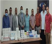 صحة أسوان: ضبط أدوية ومستحضرات غير مسجلة ومحظورة