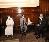 وزير الزراعة يبحث مع سفير الإمارات التعاون في الثروة الحيوانية والداجنة