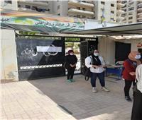 انتهاء الامتحان التجريبي الثاني للثانوية العامة بالإسكندرية|صور