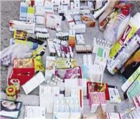 ضبط 60 ألف زجاجة مضاد حيوي منتهية الصلاحية في القليوبية