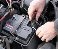 ضبط مصنع لتصنيع بطاريات السيارات دون ترخيص بالوراق
