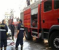 السيطرة على حريق في كابينة سيارة قمامة بمجلس مدينة طوخ