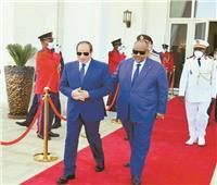 مصر وجيبوتي  القاهرة في «قلب القرن الإفريقي»