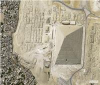 «إيرباص» تكشف أول صورة فضائية عالية الدقة لـ«هرم خوفو»