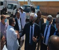 محافظ جنوب سيناء يتابع أعمال حماية أبورديس من أخطار السيول بـ٧٣ مليون جنيه