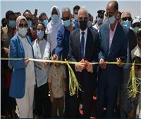 محافظ جنوب سيناء يفتتح اعمال تطوير الشاطئ العام بابوزنيمة