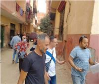 حصر العقارات المتعارضه مع توسعة الطريق الدائري بمصر القديمة