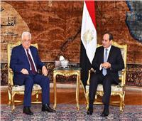 رئيس المخابرات ينقل رسالة من الرئيس السيسي لنظيره الفلسطيني
