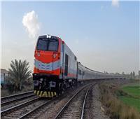 عودة حركة قطارات الصعيد بعد خروج عربة عن القضبان في بني سويف