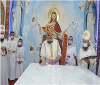 تدشين كنيسة الملاك والأنبا أبرآم بقرية روزة في الشرقية