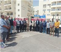 حزب حماة الوطن يقدم مساعدات طبية بـ ٥٠٠ألف جنيه لمستشفى العريش العام