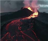 فيديو مُذهل للحظة انفجار بركان آيسلندي