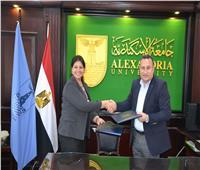جامعة الإسكندرية توقع بروتوكول مع وزارة التخطيط لنشر ثقافة ريادة الأعمال