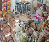 «شرطة التموين» تضبط 78 طن أغذية فاسدة و«فران» استولى على نقاط الخبز