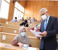 إنطلاق امتحانات الفصل الدراسي الثاني بجامعة المنوفية
