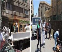 «الداخلية» تواصل رفع الإشغالات بـ«ميدان محطة مصر» وتضبط 88 قضية