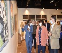 وزيرة الثقافة تفتتح معرض نتاج مبادرة «صنايعية مصر» فى الهناجر