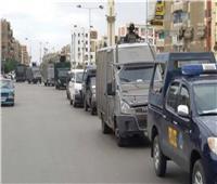 أمن أسوان ينفذ 609 أحكام قضائية في حملة تفتيشية