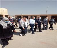 محافظ القاهرة يتفقد السوق الجديد بالمنطقة الصناعية في مدينة نصر