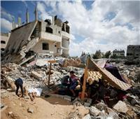 فيديو  بدء دخول معدات مصرية للمساهمة في إعادة إعمار غزة