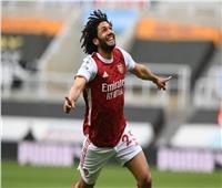أول تعليق من النني لاعب أرسنال بعد الفوز بأفضل هدف في الموسم