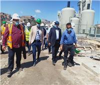 مسئولو مياه الشرب يتفقدون عدداً من محطات الصرف الصحى| صور
