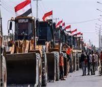 «سياسة أفعال لا أقوال».. مصر ترسل معدات هندسية إلى غزة